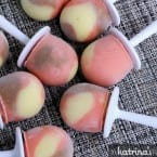 Neapolitan Greek Yogurt Pudding Pops Recipe | www.inkatrinaskitchen.com