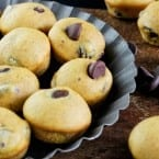 Pumpkin Chocolate Chip Mini Muffins recipe