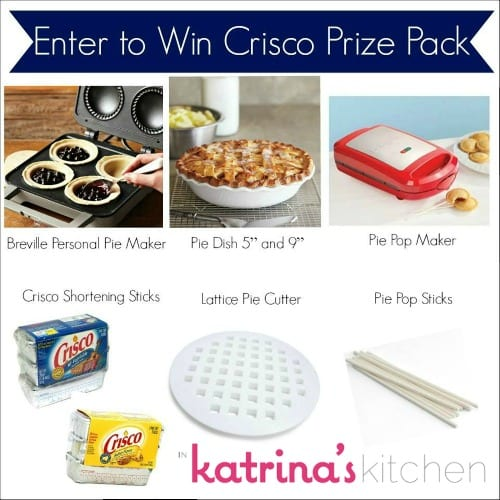 Win a $200 Crisco Prize Pack at @KatrinasKitchen