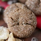 Chocolate Gingerbread Cookies by Nutmeg Nanny