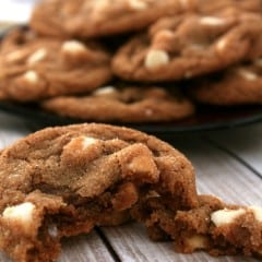 Vanilla Chip Molasses Cookies #BringtheCOOKIES
