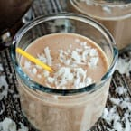 Rise and Shine Skinny Coffee Smoothie Recipe (naturally vegan, dairy-free, and gluten-free)