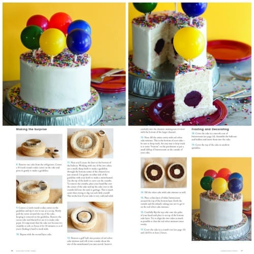 Balloon Cake Surprise Inside Cakes by Amanda Rettke #surpriseinsidecakes