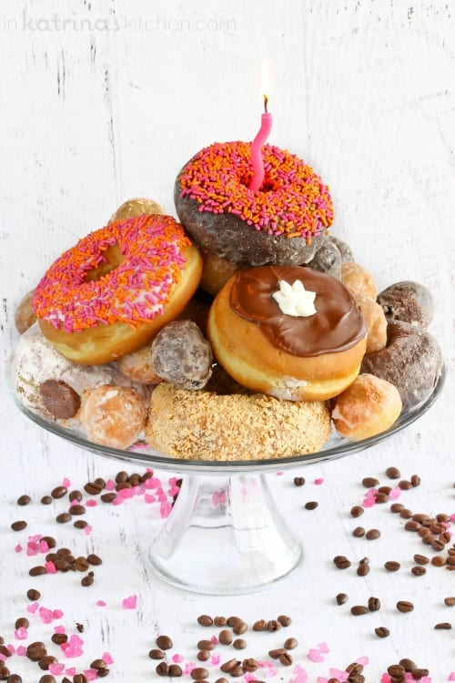 Donut Cake. Yum.