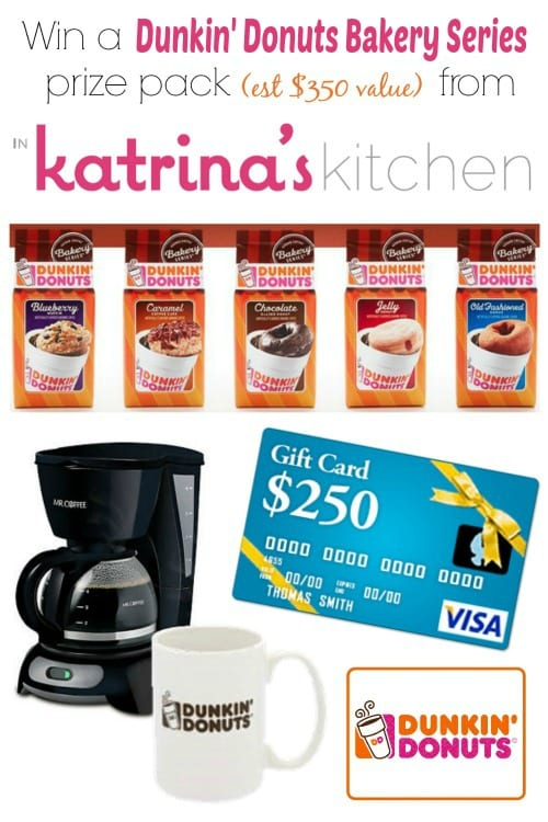 Dunkin Donuts Giveaway at In Katrinas Kitchen
