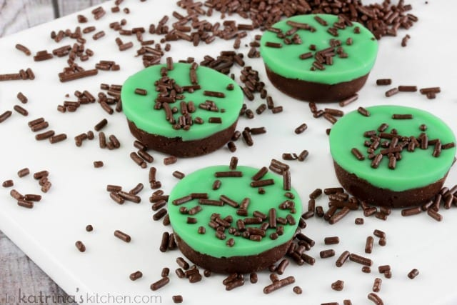 Mint Iced Chocolate Fudge Recipe