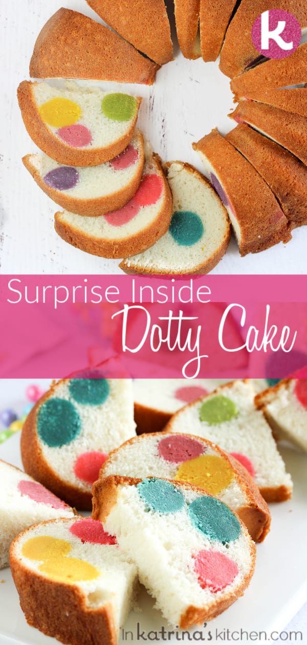 Surprise Inside Dotty Cake Recipe