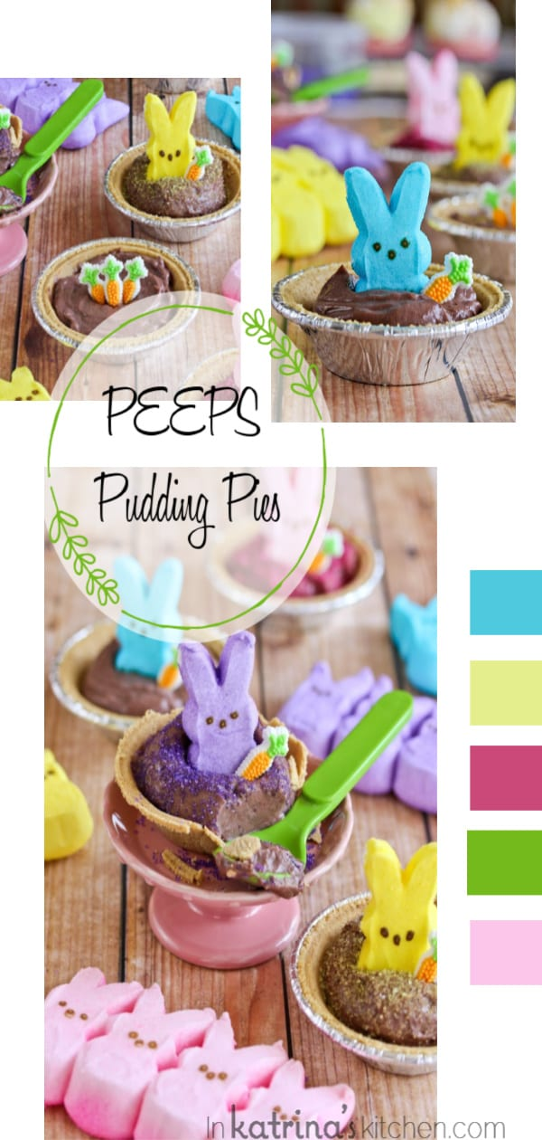 PEEPS Pudding Pies