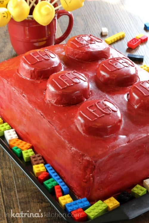 Lego Cake In Katrina s Kitchen