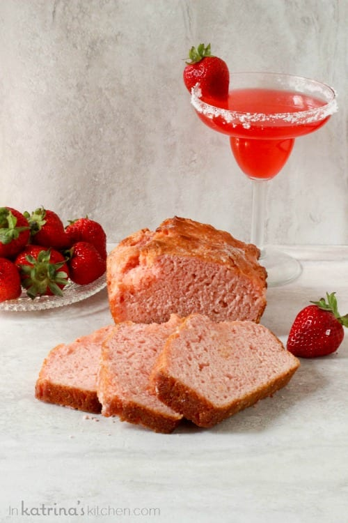 Strawberry Margarita Beer Bread Recipe
