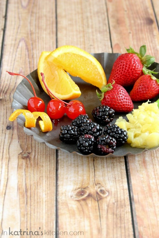 Set out a fruit tray for breakfast and let kids customize their yogurt- my kids LOVE selecting their own!
