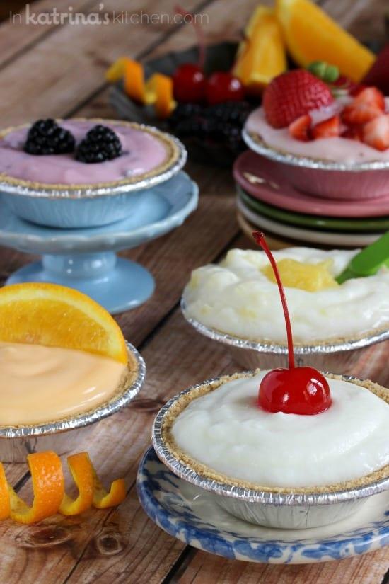 Breakfast Cream Pies