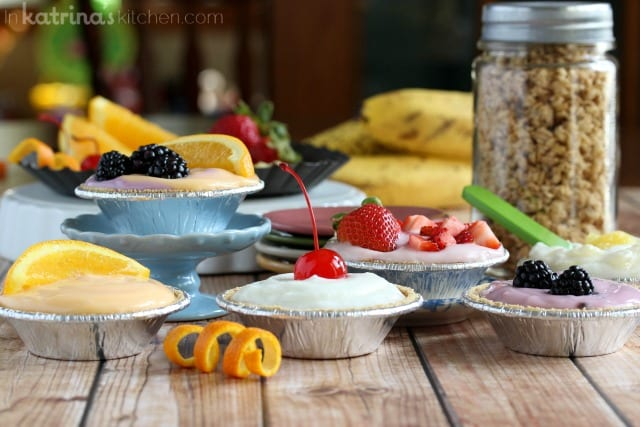 Breakfast couldn't be easier with these simple Breakfast Cream Pies. Easy recipe and fun!