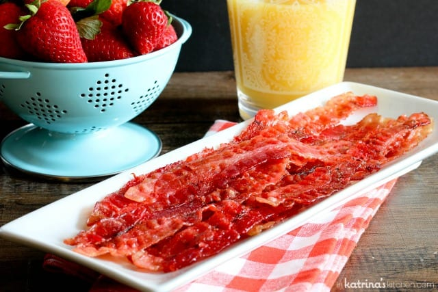 Strawberry Candied Bacon Recipe