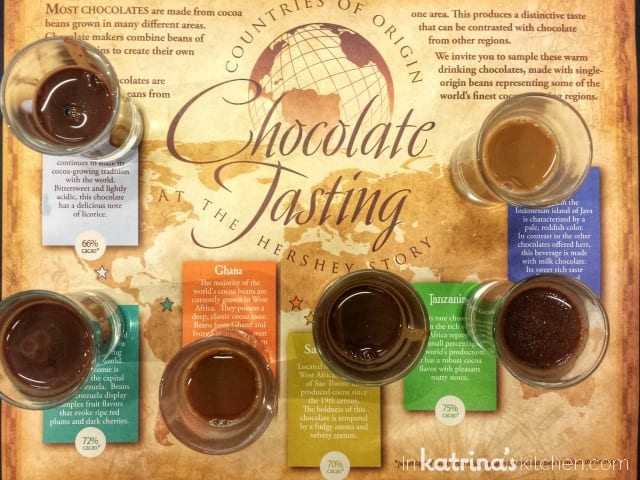 The Hershey Experience: Chocolate Tasting
