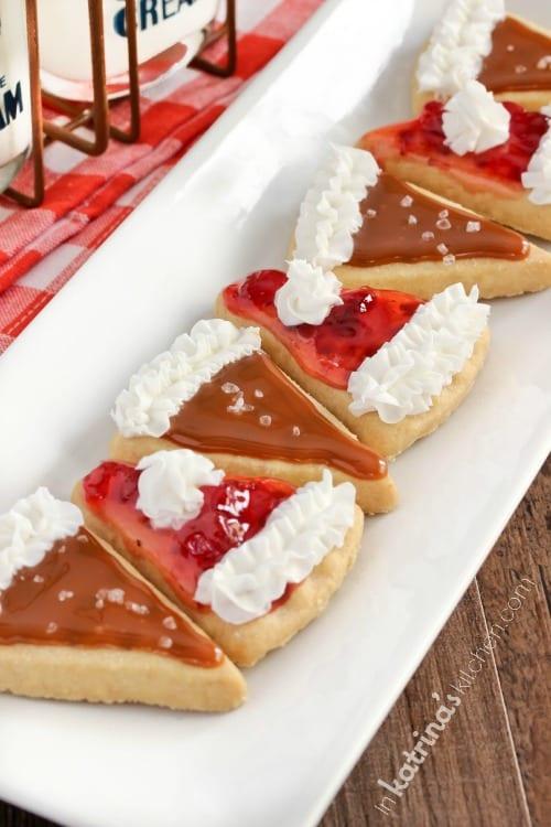 EASY Pie Slice Cookie Recipe