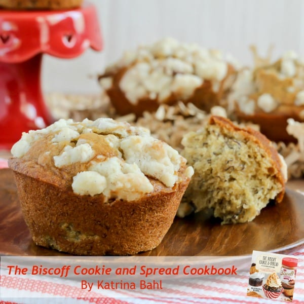 Biscoff Banana Streusel Muffins