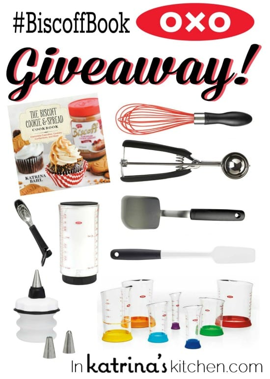 Biscoff Cookbook and OXO Giveaway In Katrinas Kitchen