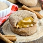 Biscoff Stuffed Snickerdoodles Cookie Recipe