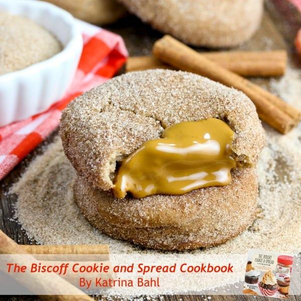 Biscoff Stuffed Snickerdoodles Recipe