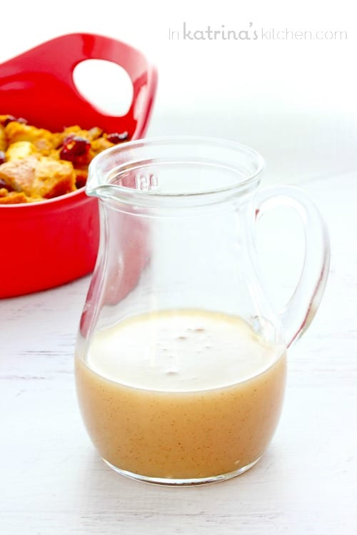 Pumpkin Spice Vanilla Butter Sauce Recipe- creamy and delicious