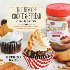 The Biscoff Cookie and Spread Cookbook by Katrina Bahl Cover