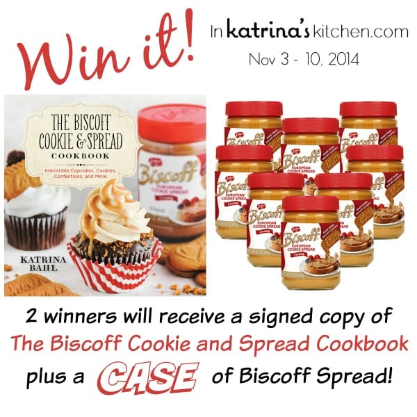 Win a case of Biscoff Spread