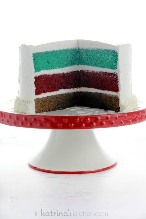 Simple Christmas Cake