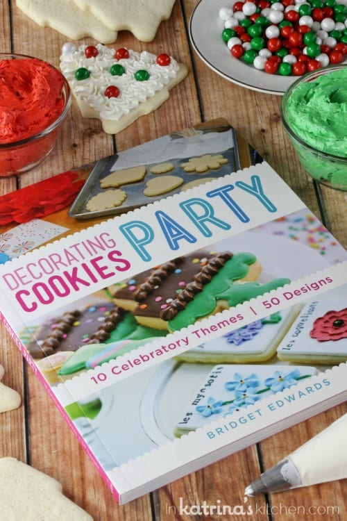 Decorating Cookies Party Cookbook by Bridget Edwards