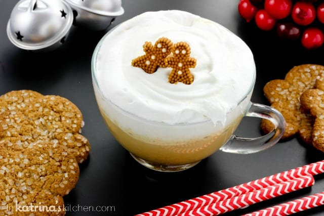 Warm Gingerbread Steamer Recipe