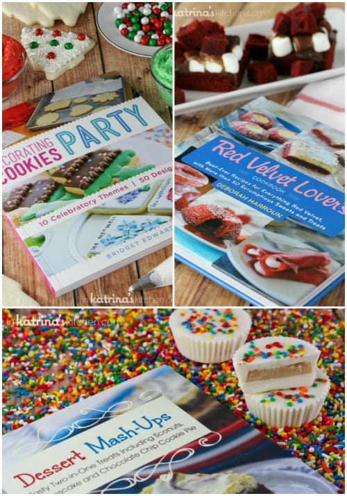 Holiday Cookbook Giveaway- win all three!