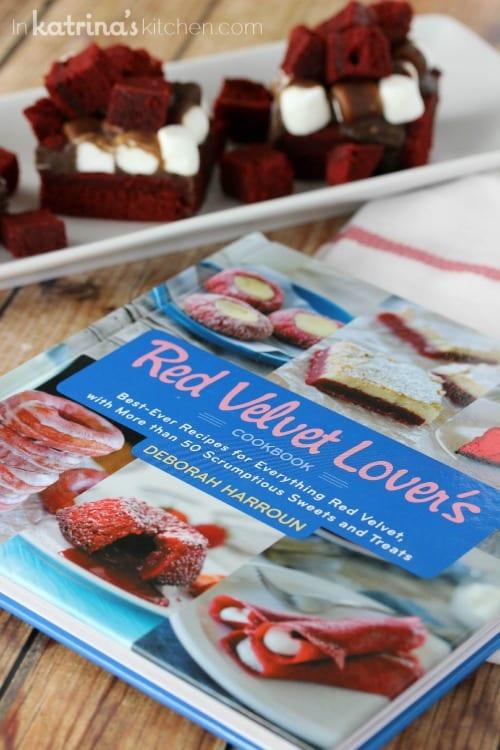 The Red Velvet Lover's Cookbook by Deborah Harroun