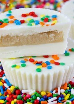 Sugar Cookie Dough Cups