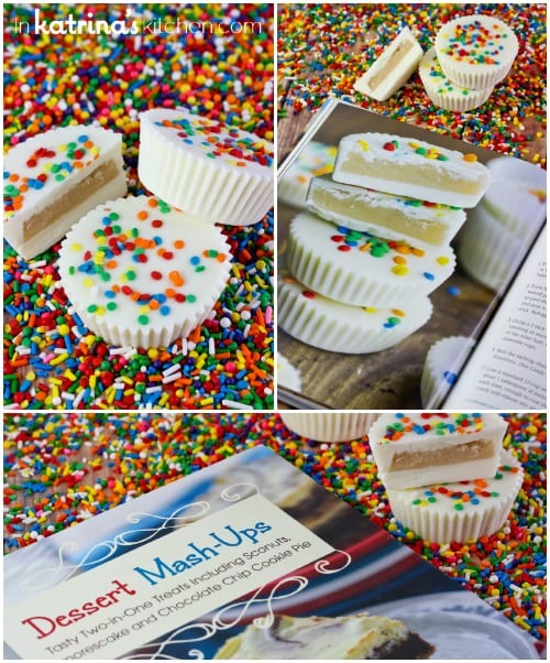 Sugar Cookie Dough Cups Recipe from Dessert Mashups by Dorothy Kern