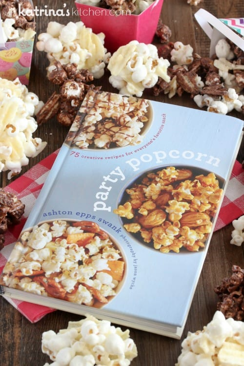 Chocolate Covered Potato Chip Popcorn Recipe from Party Popcorn by Ashton Swank