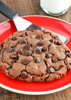 Double Chocolate Chip Cookies for Two
