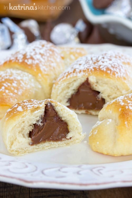 Kiss Crescents Recipe is great for chocolate lovers and anyone who wants a quick and delicious treat. Perfect for brunch!