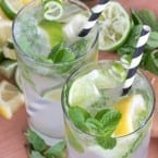 Non-alcoholic Nojito Recipe with agave
