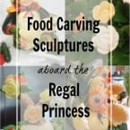 A Look at the Food Carving Sculptures Aboard the Regal Princess