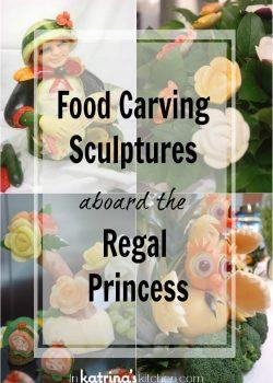 Food Carving Sculptures