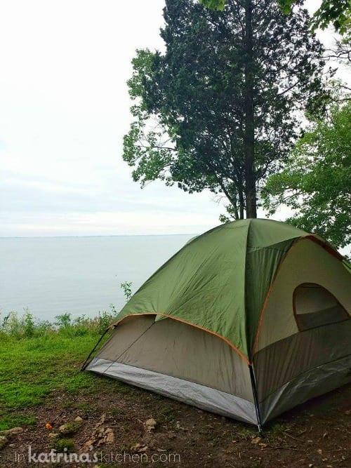 Site 117 Put in Bay Campsite
