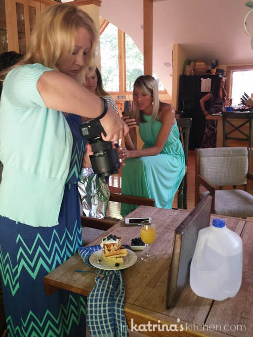 Studying Food Photography // Sharing By The Shore- a Northern Michigan Blogger Retreat