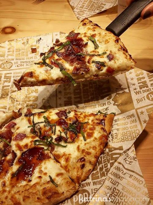 Bacon and Blue Cherry Fig Jam Pizza- a Cherry Republic original recipe
