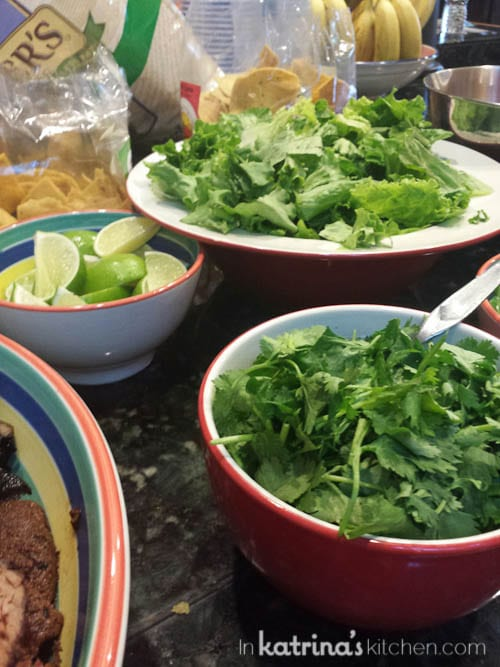 Fajita Fixings // Sharing By The Shore- a Northern Michigan Blogger Retreat