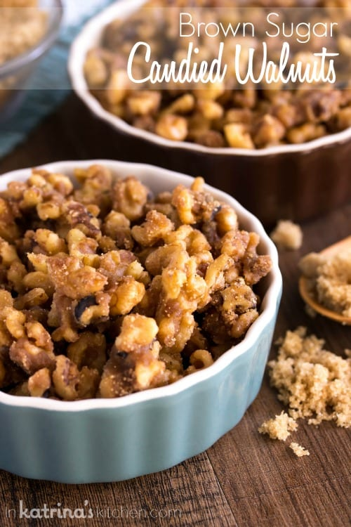 Brown Sugar Candied Walnuts Recipe
