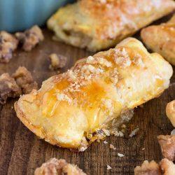 EASY entertaining- Honey Brie Bites Recipe