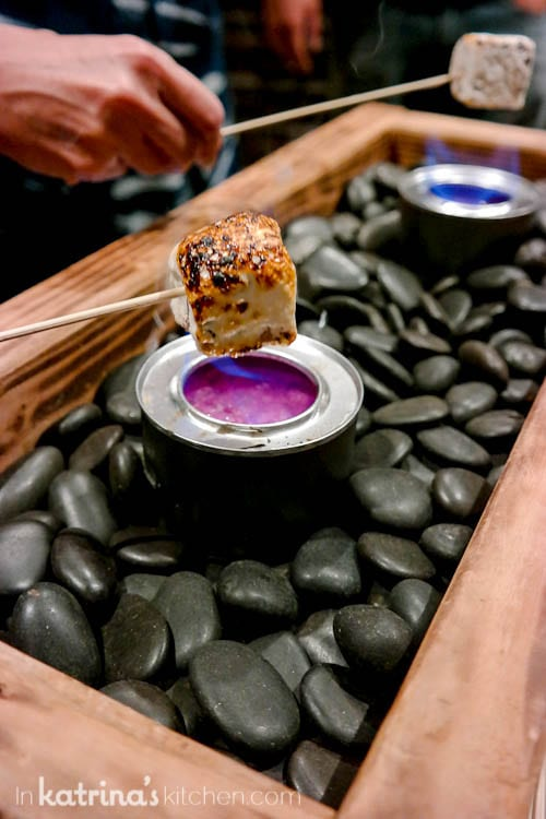 What a fun way to make indoor smores