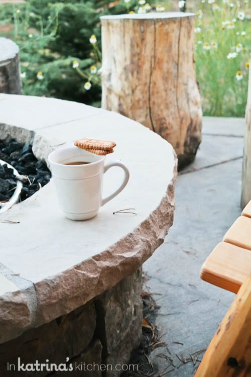 Be sure to build in private times- enjoy a quiet moment with a favorite cup of coffee