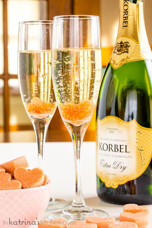 You'll love these Champagne Cocktail Sugar Cubes infused with cocktail bitters