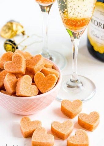 DIY Champagne Cocktail Sugar Cubes Recipe